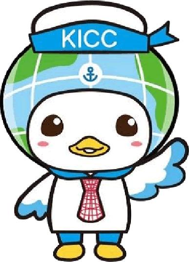 KICCマスコットキャラクター カモメの「コッコ」